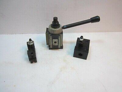 Quick Change Piston Lathe Tool Post Cxa 300 With 304 310 Holders 13-18 3 Pc Set