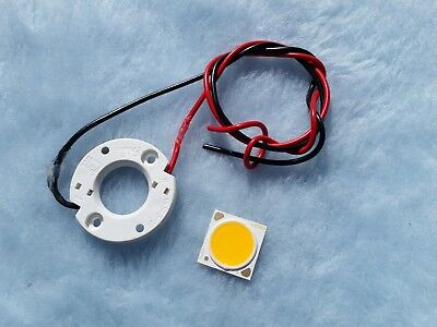 sourcing map 2mm Pre Wired LED Warm White DC 6-12V Diffused Lights Emitting Diodes 20PCS