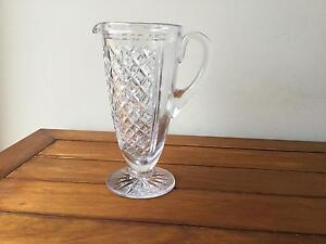Crystal jug style vase New Lambton Heights Newcastle Area Preview