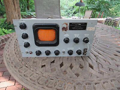 Vintage Panoramic Indicator Ip-173cu Oscilloscope Ham Radio Tube Type 12au7