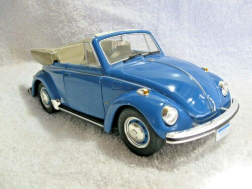 Vintage Collectible REVELL AG 1/18th VW 1302 LS KAFER Die Cast Model-Convertible