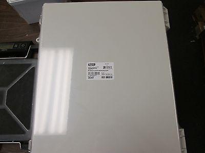Hoffman Polycarbonate Enclosure E504020PPG Nema 4x Enclosure Inculdes Backplate