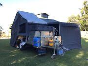Ivan adventure hard floor camper trailer modified Kinross Joondalup Area Preview
