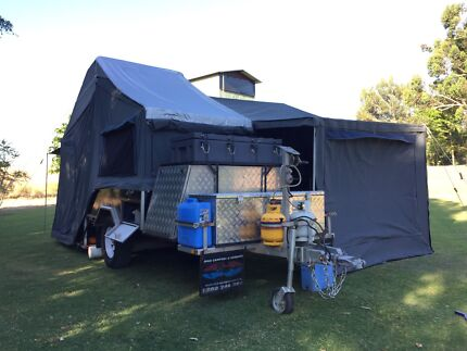 Ivan adventure hard floor camper trailer modified Kinross Joondalup Area Preview