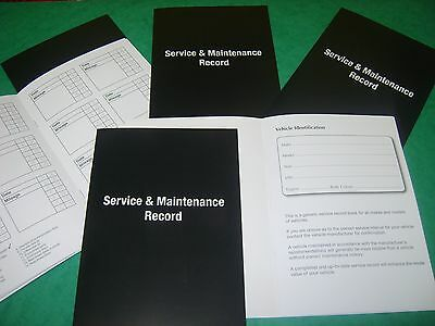 Lexus Service History Book - Vehicle Maintenance Record Log Replacement.