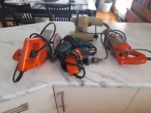Power tools assortment