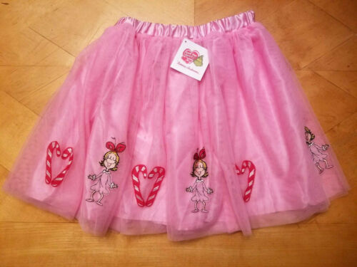 NWT HANNA ANDERSSON CINDY LOU WHO GRINCH TUTU TULLE SKIRT 150 12 140 10 130 8