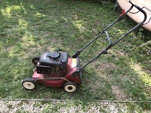 4 strokes lawn mower