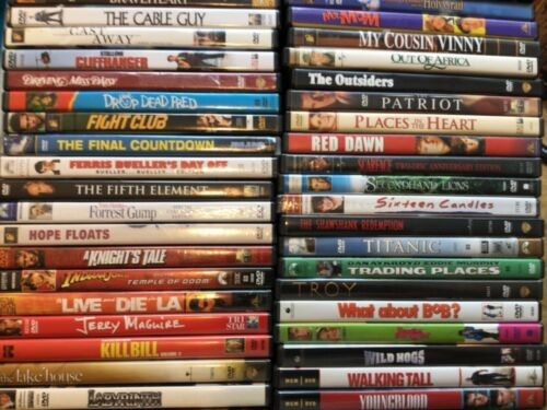 DVDS Movies PICK and CHOOSE From 300 + Action - Drama - Comedy - Combined Ship