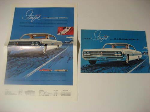 1962 Oldsmobile Spitfire Brochures...Lot of Two