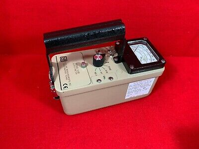 Ludlum Measurements Model 3-90 Ratemeter Survey Meter Calibrated
