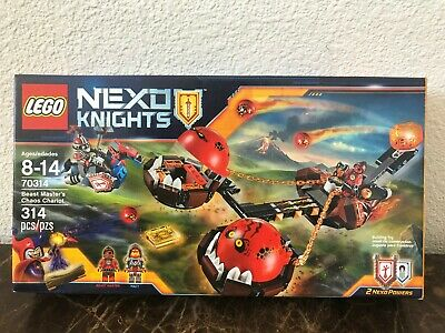 Lego Nexo Knights Beast Master's Chaos Chariot Set 70314 New, Sealed!