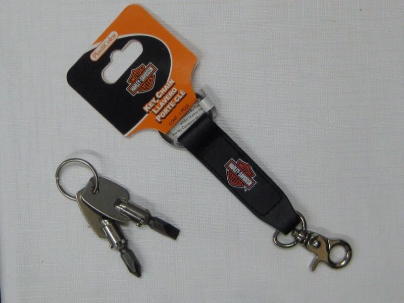 HARLEY DAVIDSON KEY CHAIN WITH SCREWDRIVER SET