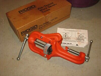 New Ridgid No.38 Bench Mount Portable Yoke Pipe Vise 18-2