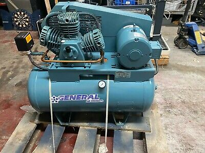General Air Product Tank Mounted Air Compressor For Sprinkler System Lt1600300b
