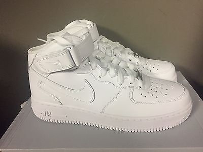 Nike Air Force 1 Mid 07 Mens Shoes White White 315123 111