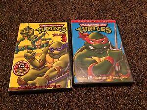 Classic Teenage Mutant Ninja Turtles cartoon volumes 3&5
