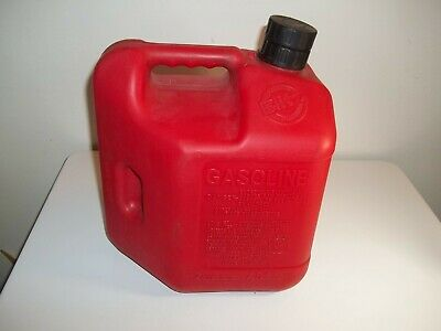 Blitz 2 Gallon 8 Oz. Plastic Gas Can Self Venting Container With Spout