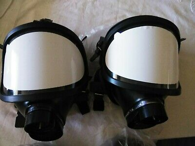Full Face Mf14 Gas Mask Respirator Filter For Spraying Lab Chemistry