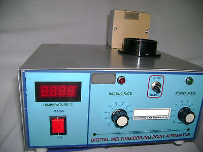 Digital Melting And Boiling Point Apparatus