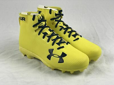 NEW Under Armour - Yellow Cleats (Men's 12)