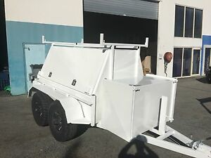 CUSTOM MADE BUILDER/TRADIES TRAILERS BUILT IN OUR FACTORY! Logan Area Preview