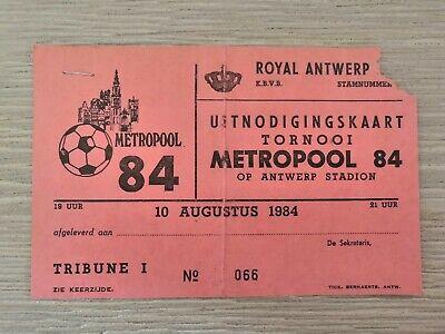 Ticket Toernooi Metropool Antwerp FC - Beerschot VAV - SK Lierse - Studentesc B.