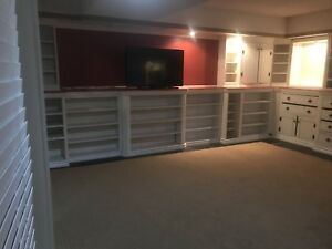 One Large bedroom in a large basement apartment