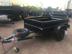 7x4 Box Trailer High Side with 12 months NSW REGO On Road $1100