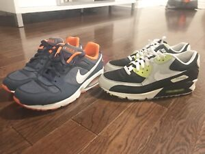 best website ce90a 9e74f Nike air max 90 ( both size 10.5)