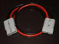 Heavy Duty Clamps 8m x 25mm² 170 Amp Jump Start Leads Grey SB175 Anderson Plug