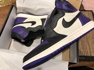 ee3d06eceaa Air Jordan 1 Retro High OG Court Purple US 12.5
