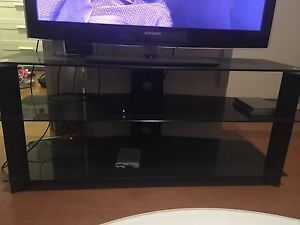 Black Glass TV Stand Neutral Bay North Sydney Area Preview