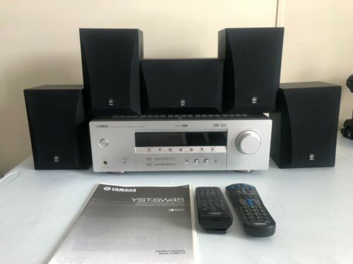 Yamaha Home Theater System 5.1 Surround Sound Natural Sound w/ Speakers Remote