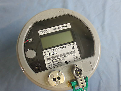 Elster Type A1tl Recording Watthour Meter - Cjss6r Fm 128 - 120-480v 3w 60hz