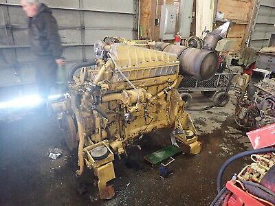 Caterpillar 3306 Dita Turbo Diesel Engine Runs Exc. 330bl Excavator 330l 330 Cat