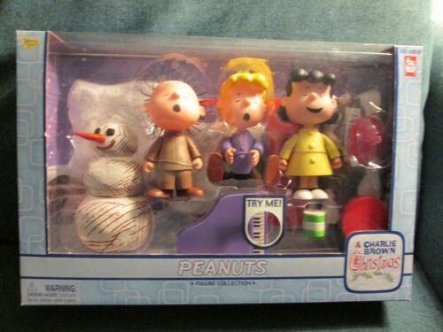 A Charlie Brown Christmas Figure Collection from Memory Lane - 2003 - NRFB