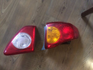 Toyota Corolla tail lights