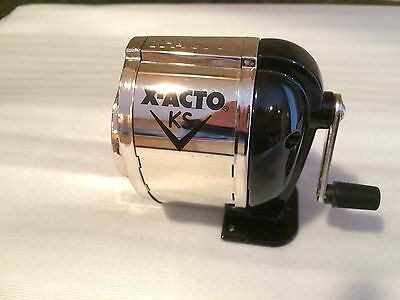 X-acto Model Ks Table- Or Wall-mount Pencil Sharpener 1031