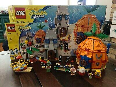 LEGO 3817 Bikini Bottom Underseas Party Spongebob Squarepants Set 100% Complete
