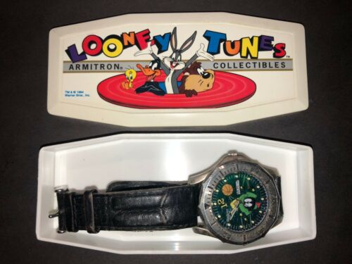 Loony Toons Collection: Armitron Marvin the Martian Watch: in original box