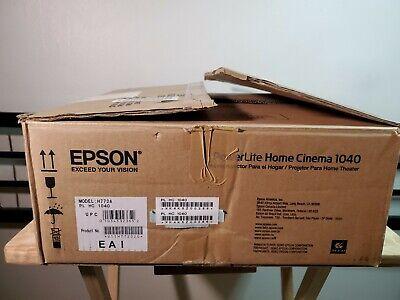 Epson PowerLite Home Cinema 1040 3-LCD 1080P Projector - Remote & Power Cable segunda mano  Embacar hacia Mexico