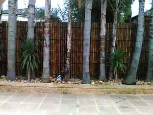 2.4m x 0.9 Bamboo Fencing Panel Rowville Knox Area Preview