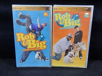 LOT OF (2) PSP UMD VIDEOS MTV ROB & BIG VOLUME 1 & 2 UNCENSORED  **NEW**