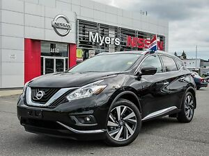 2017 Nissan Murano PLATINUM AWD, NAVIGATION, INTELLIGENT KEY, LE