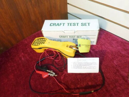 New AINES Craft Test Set Lineman Handset Tester