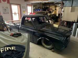 1967 Chevrolet C10 project with Porterbuilt Suspension
