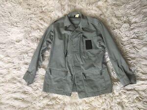 APC Army Khaki Jacket Coat Designer Mens M