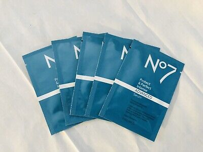 Boots No7 Protect And Perfect Intense Advanced Serum, 3ml 0.1 Fl Oz - Lot Of (Boots No 7 Protect And Perfect Intense Serum)