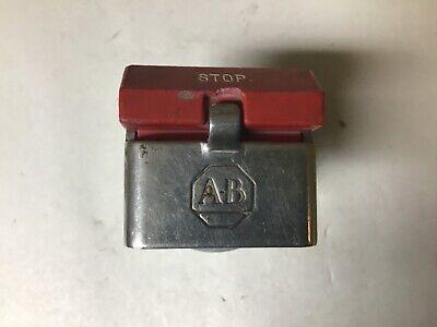 Allen-bradley 800h-wk61 Momentary Stop Push Button
